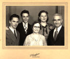 Walter and Mattie Haskell and Family