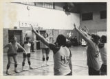 Volleyball Players Warming Up