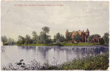 Postcard of Brookside and Mirror Lake