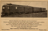 Advertisment, Winona Interurban...
