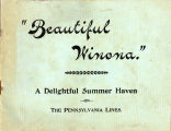 """Beautiful Winona"" booklet from Pennsylvania Lines"