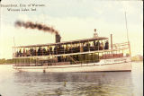 """City of Warsaw"" Steamboat"